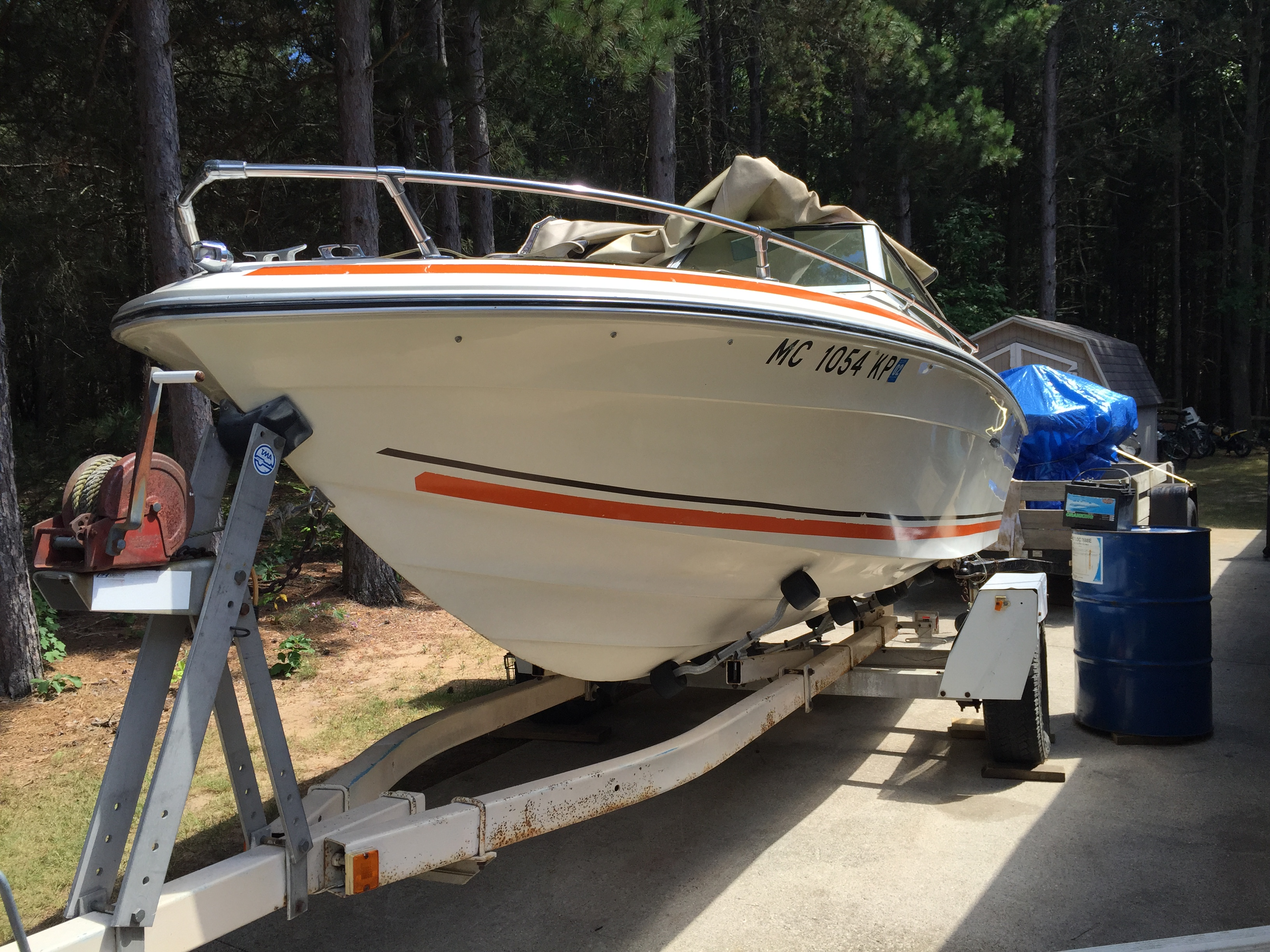 Tom 39 s mobile marine your dock or my shop for Boat motor repair shops